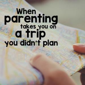trip you didn't plan square